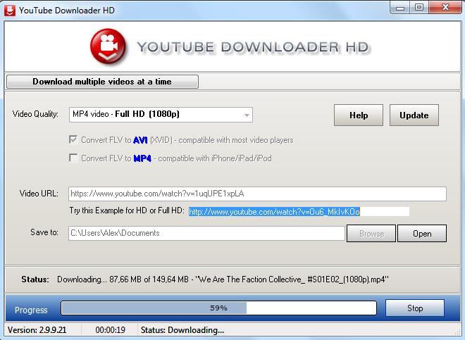 Программа youtube downloader hd скачать