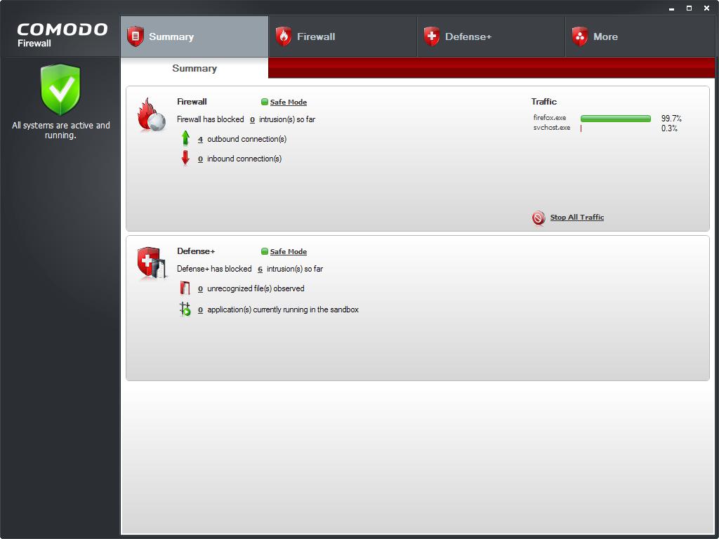 Comodo Firewall Pro